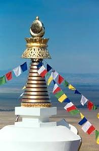 stupa spire