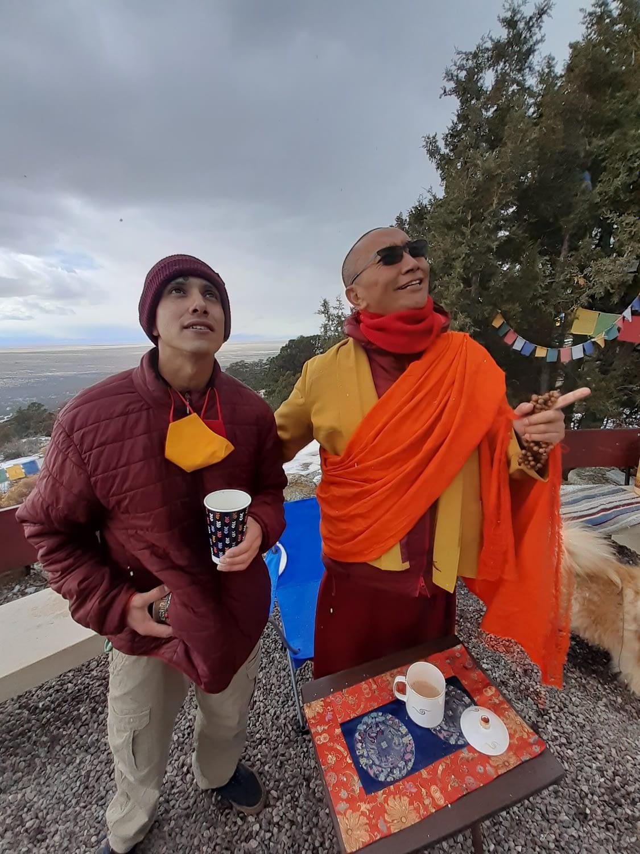 Tashi Gomang Stupa