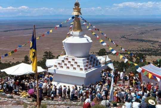 stupa celebraion